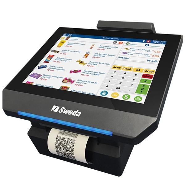 PDV Mobox Ônix Sweda Com Impressora e Sistema de Vendas e Gestão