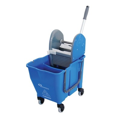 Balde Com Espremedor Doblo Azul 30 lts - Bralimpia