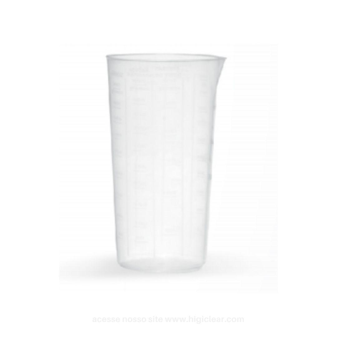 Caneca de plástico