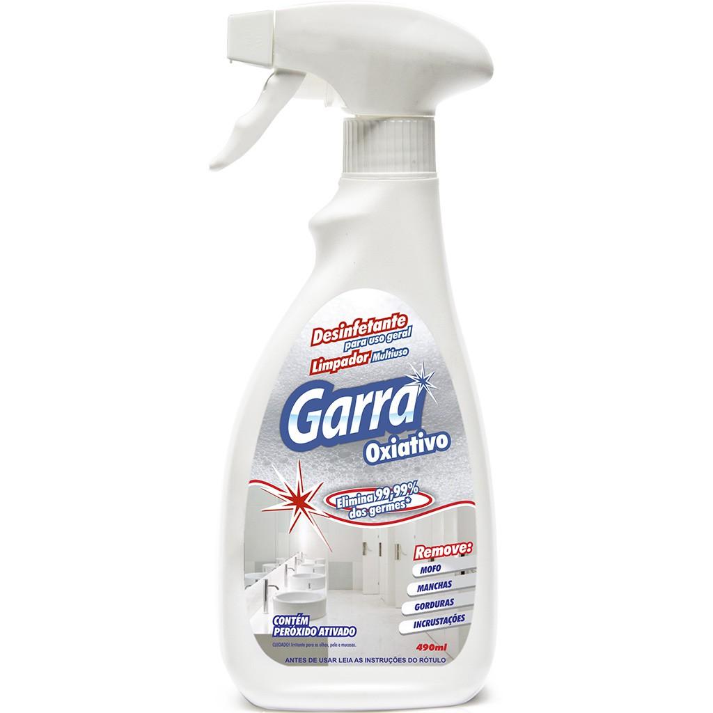Desinfetante Bactericida Limpador Garra 490 ml