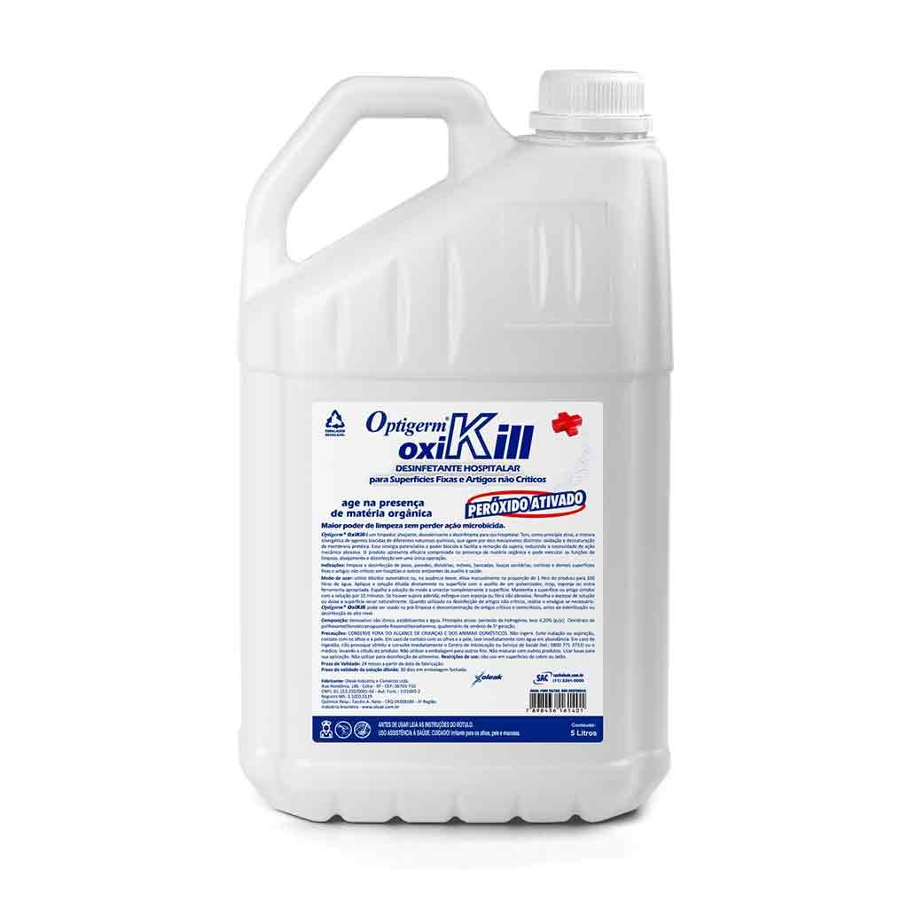 Desinfetante Quaternário Oxikill 5 lts