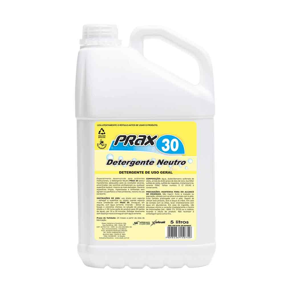 Detergente 5 litros Prax 30