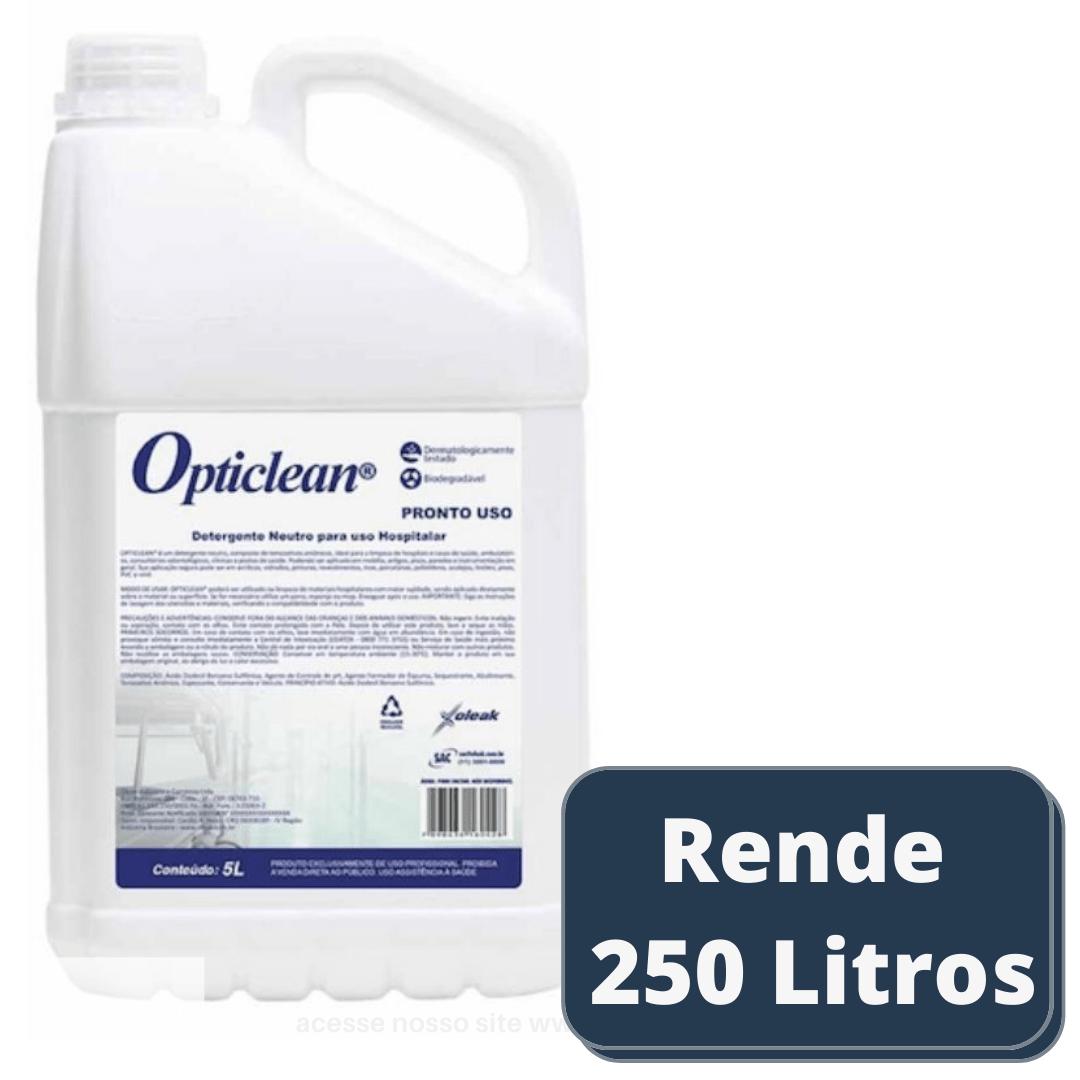 Detergente Neutro Hospitalar Opticlean 5 lts