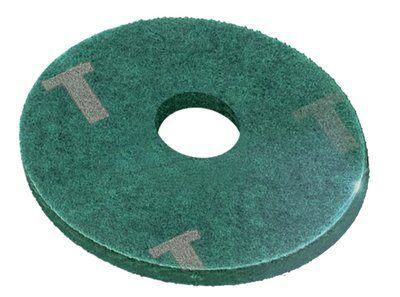 Disco Para Enceradeira 350 MM Verde - Tinindo