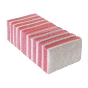 Esponja Bettanin Branca/Rosa