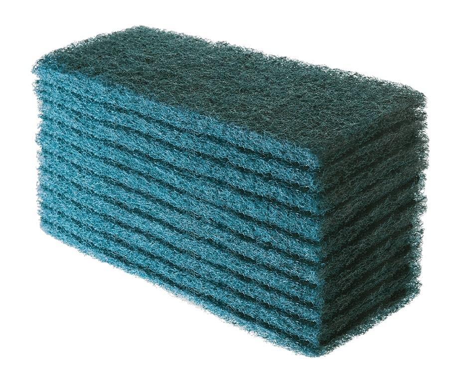 Fibra Limpeza Pesada Verde - Kit c/ 10 Unidades