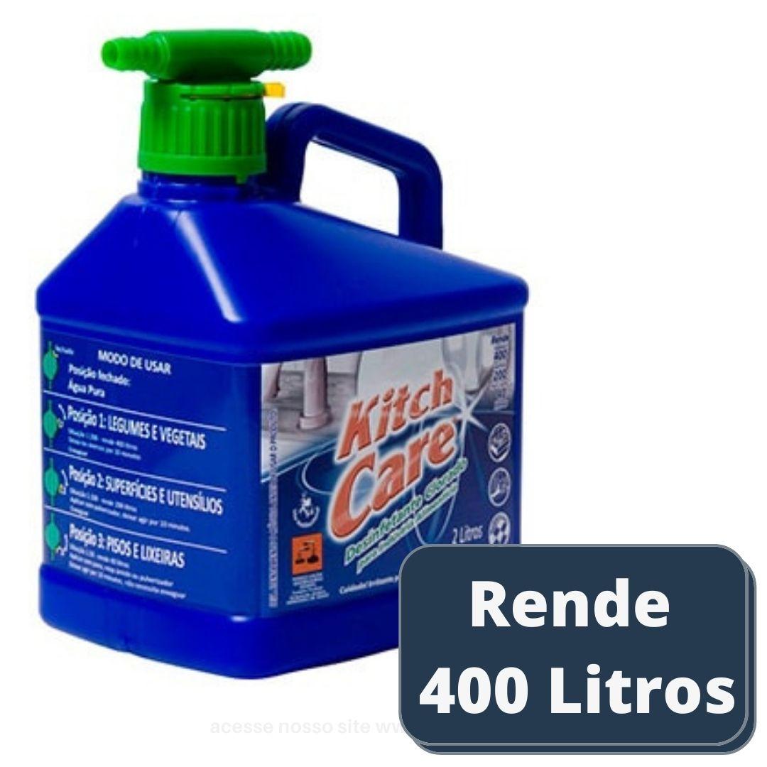 Higienizador de Salada Kitch Care Clorado 4G - 2 l