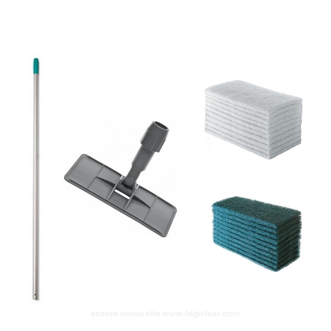 kit suporte lt com cabo e fibras