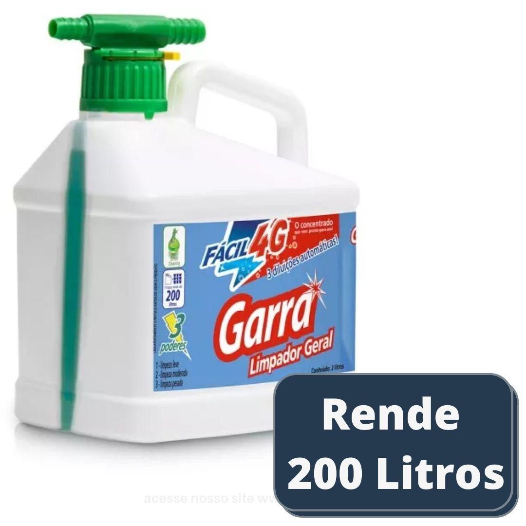 Limpador Multiuso Limpeza Geral Garra 2 lts