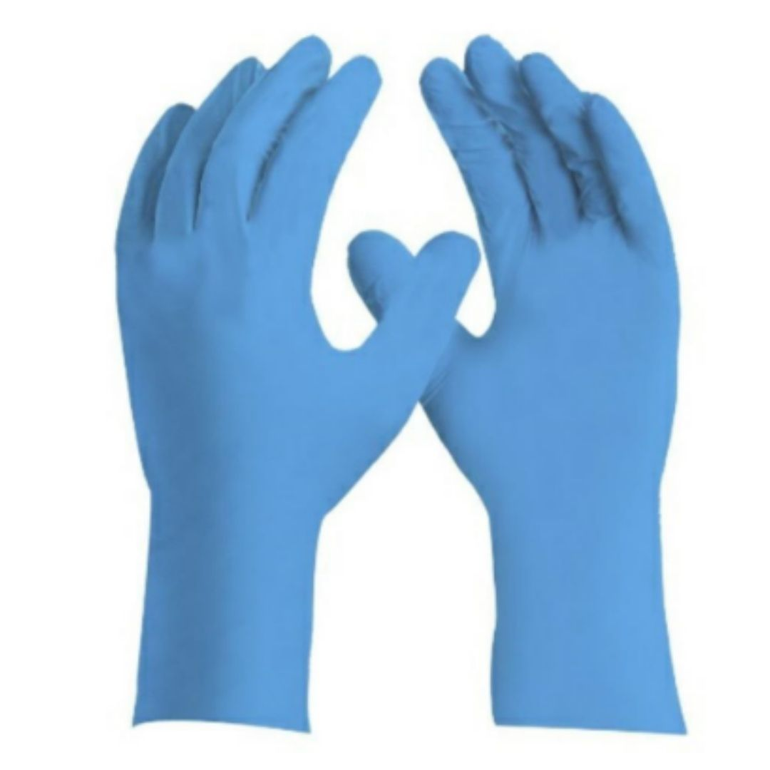 Luva Limpeza Azul P