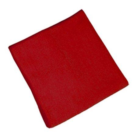 Pano De Microfibra Vermelho