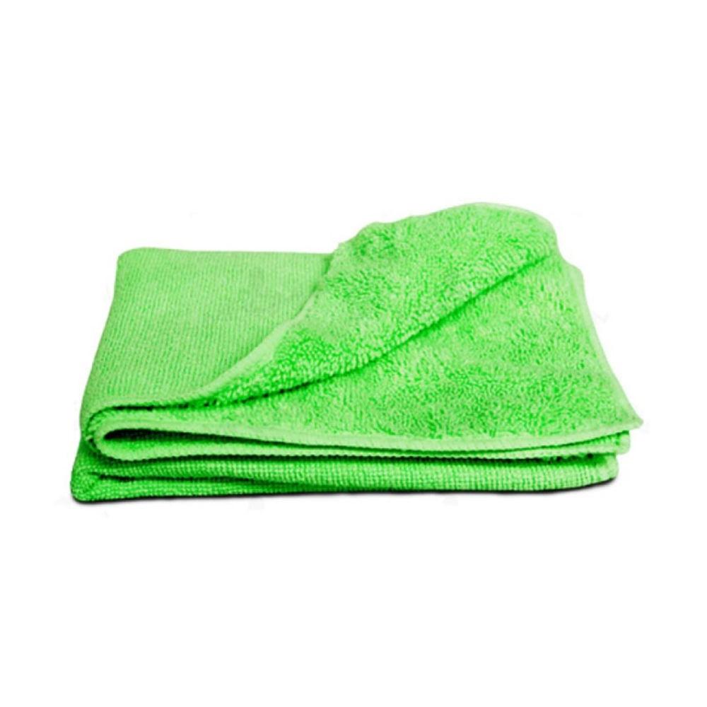 Pano de Microfibra Para Limpeza Verde