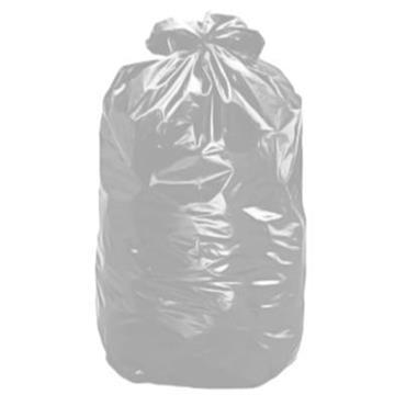 Saco de Lixo 40 Litros 4 Micras Cinza 50 Unidades