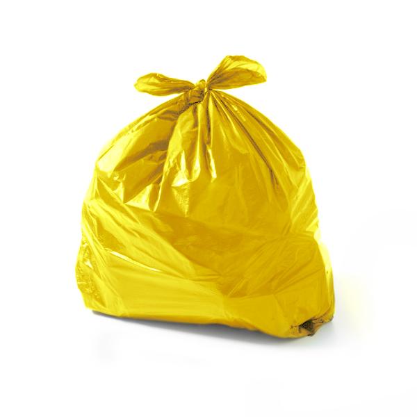 Saco Lixo 60 Litros Amarelo