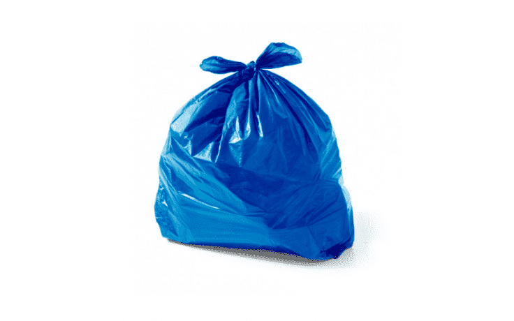 Saco Lixo 60 Litros Azul