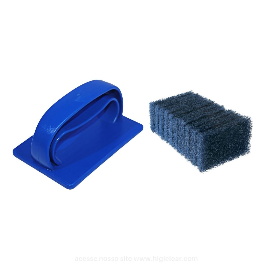 Suporte Para Fibraco Kit com 10 Fibras Multiuso