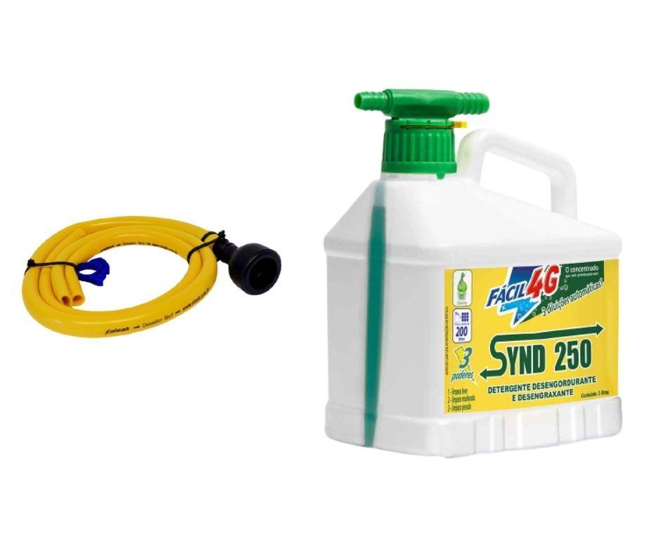 Synd 250 fácil 4G 2lt com mangueira para diluição
