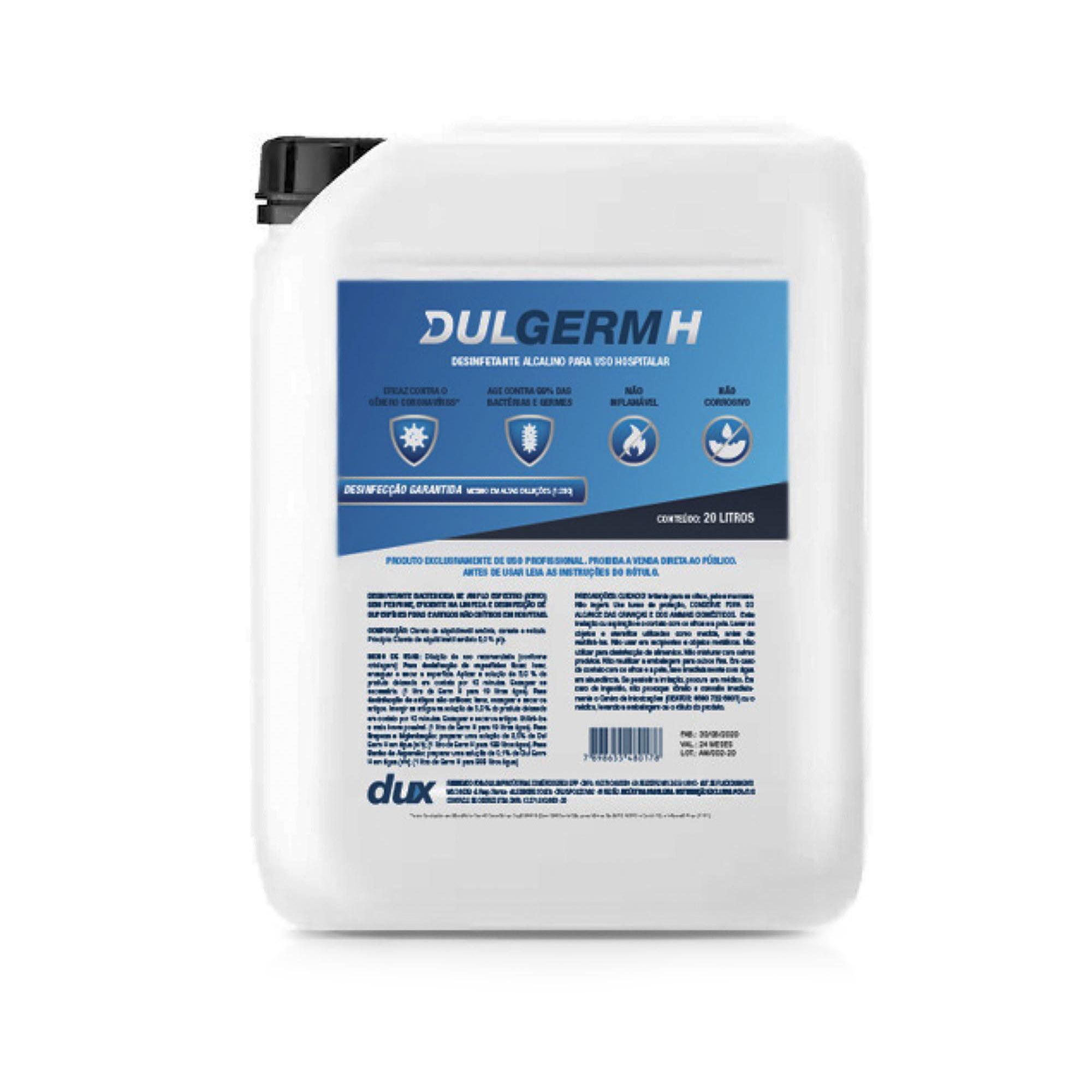 Combo Atomizador UBV-BV + 40 Litros de DulGerm H