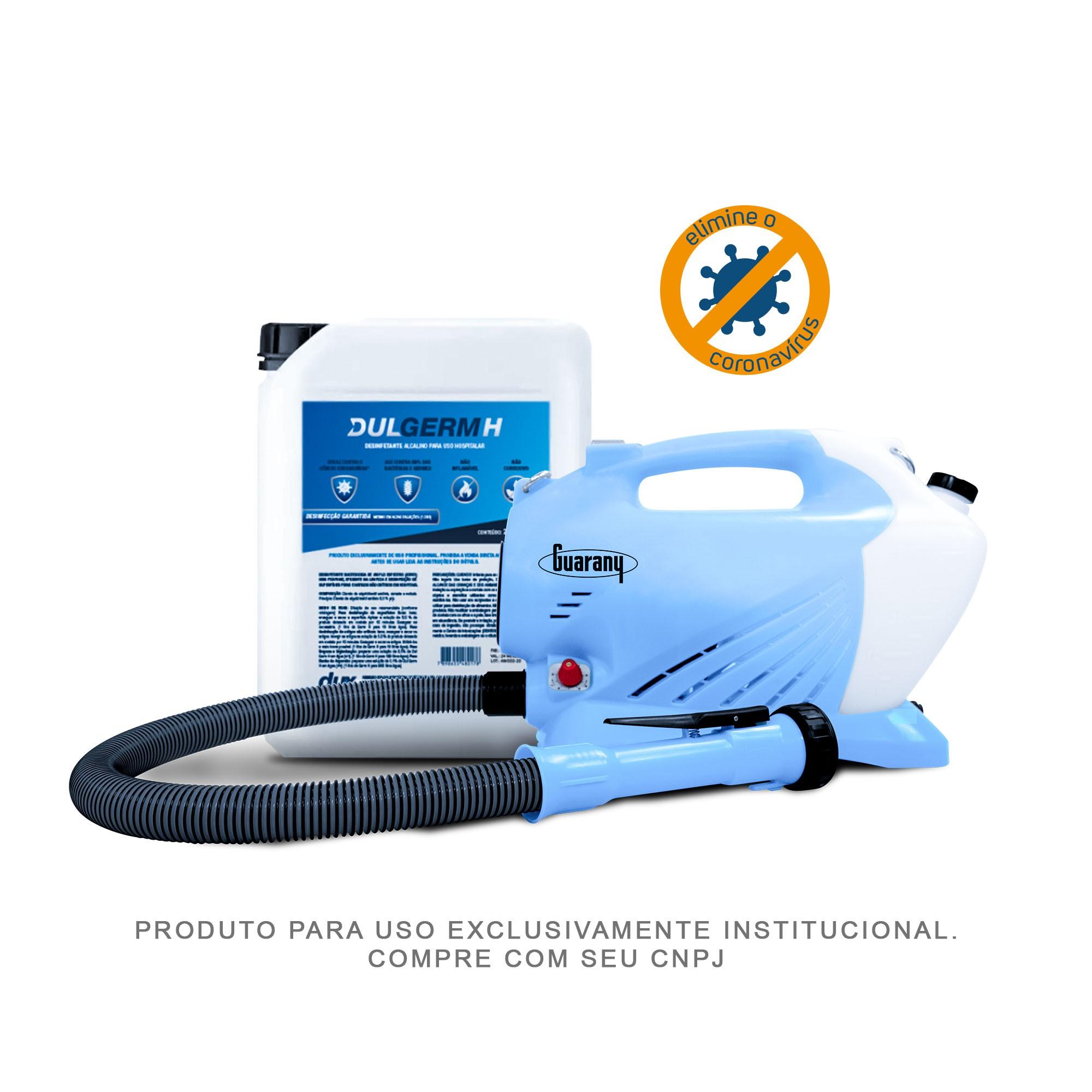 Combo Nebulizador/Atomizador + 20 Litros de DulGerm H