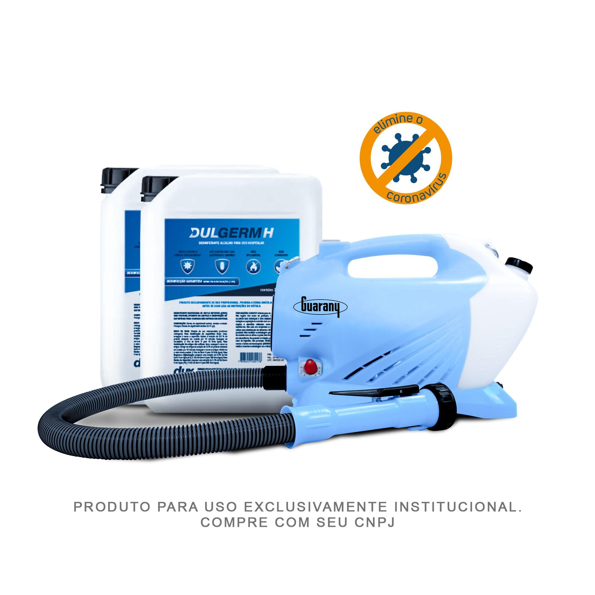 Combo Nebulizador/Atomizador + 40 Litros de DulGerm H