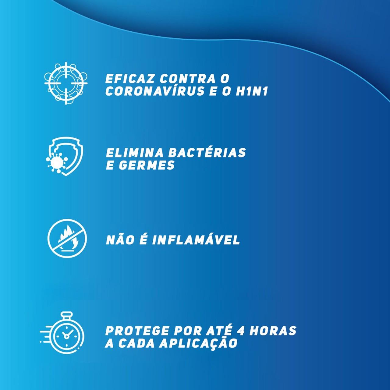 Dux Defender Pro - Antisséptico Higienizador para Mãos - 5 Litros