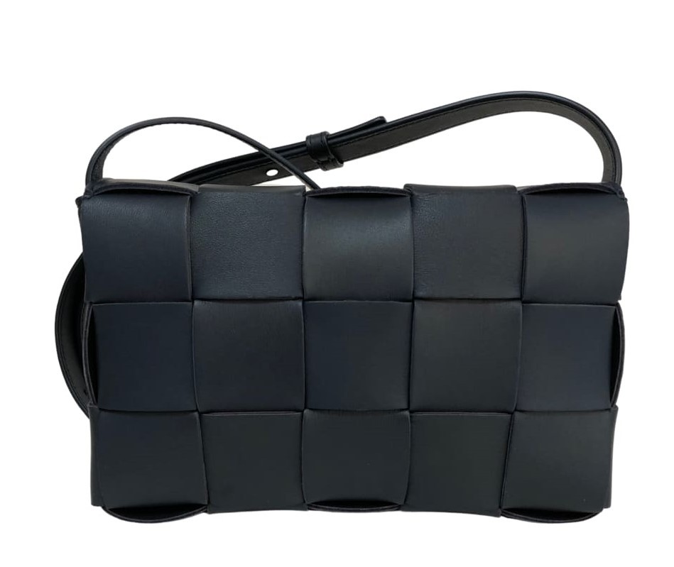 Bolsa Bottega Veneta Cassette Azul Escuro