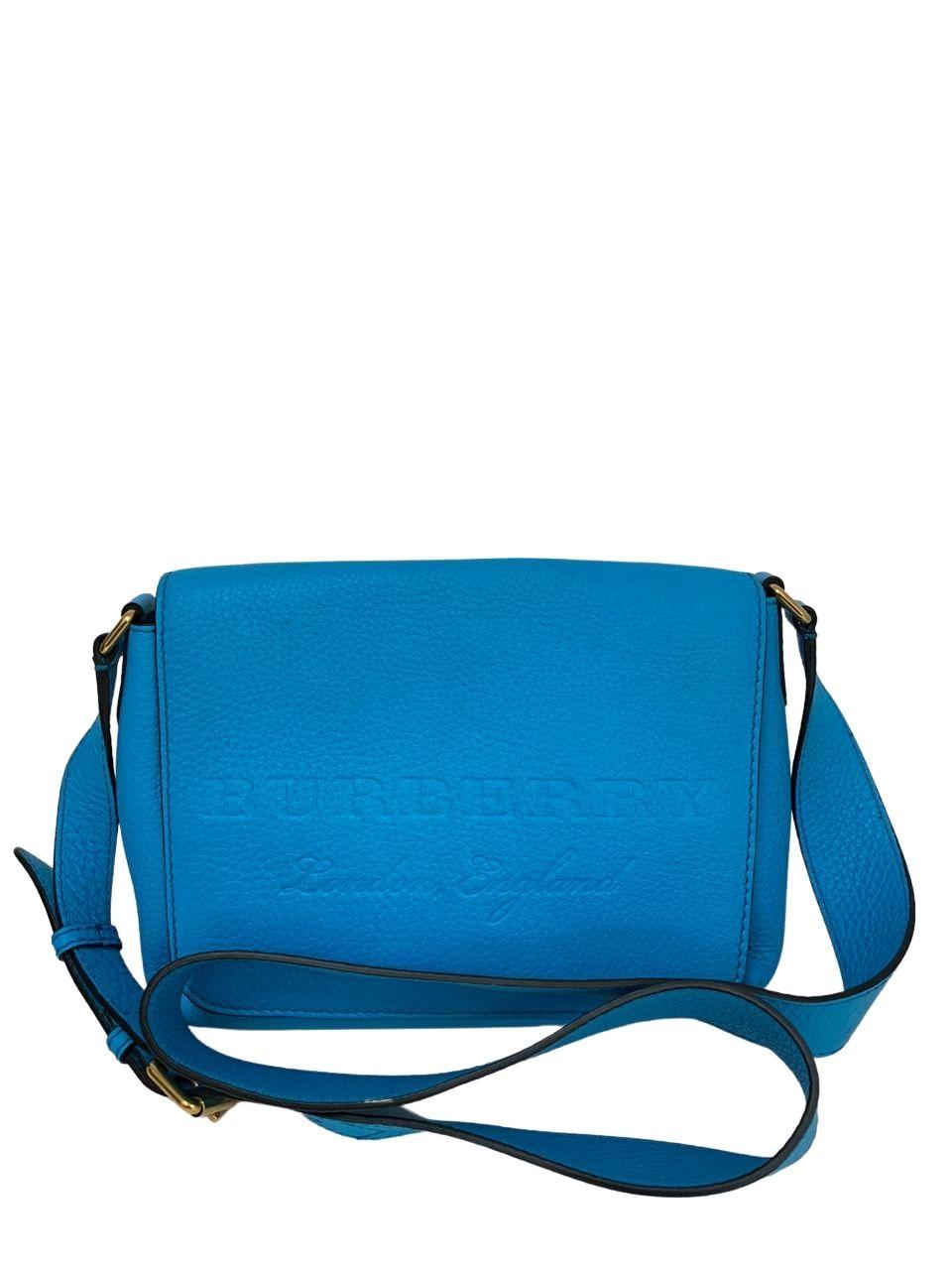Bolsa Burberry Azul