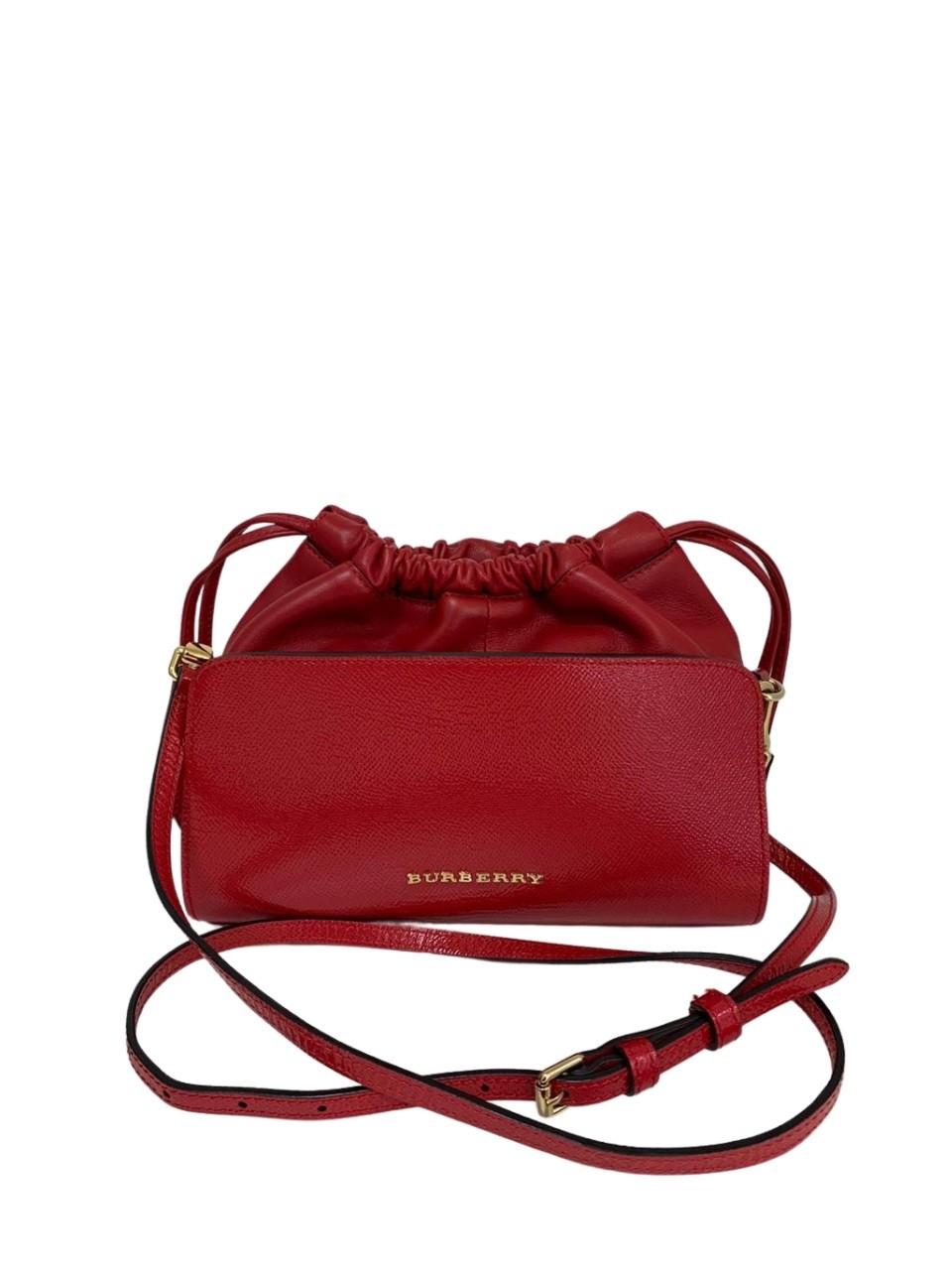 Bolsa Burberry Red Mini Dinton Vermelha