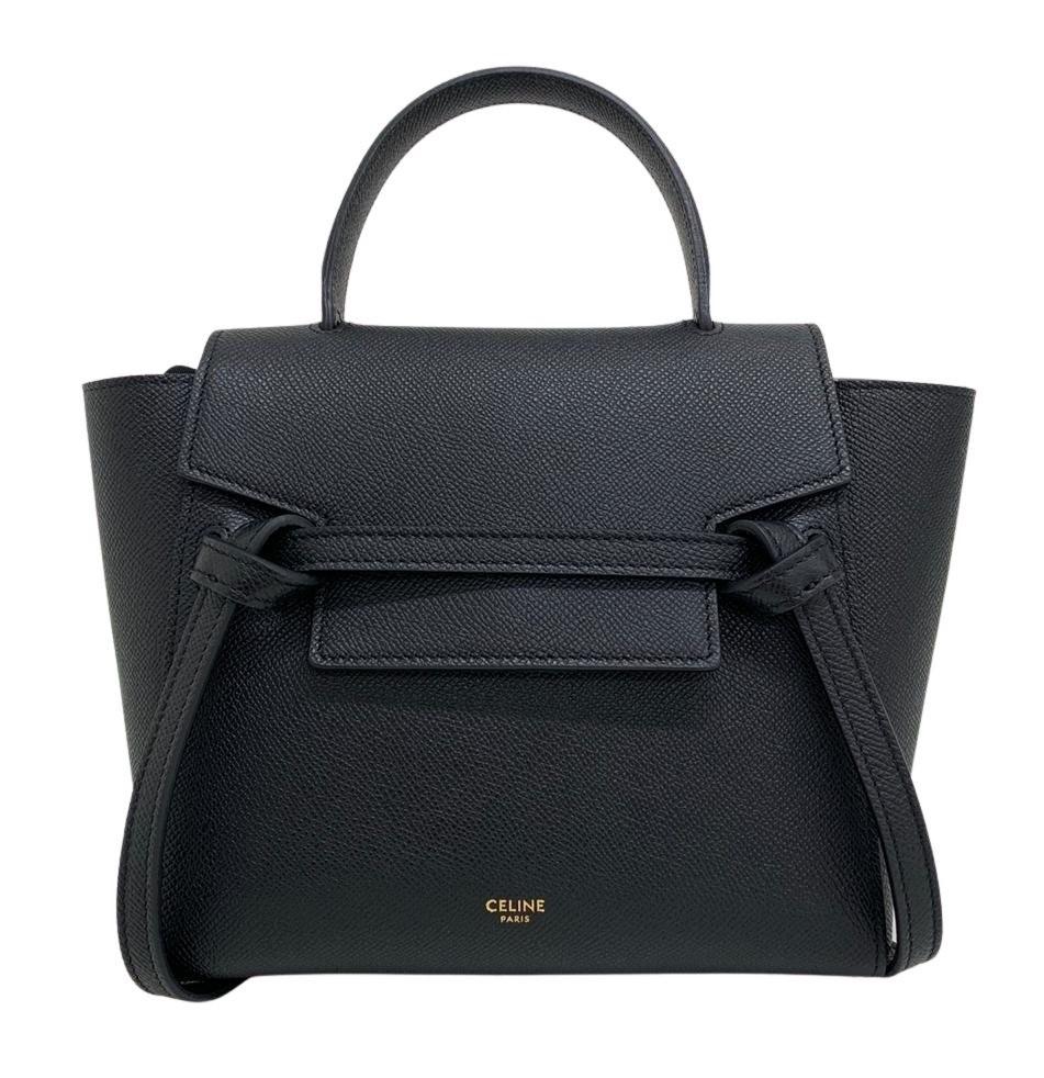 Bolsa Céline Belt Bag Mini Preta