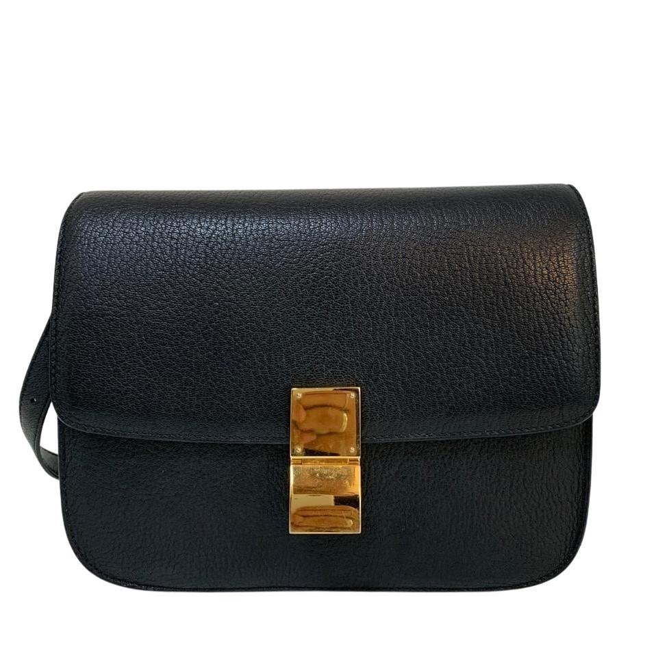 Bolsa Céline Classic Box Preta
