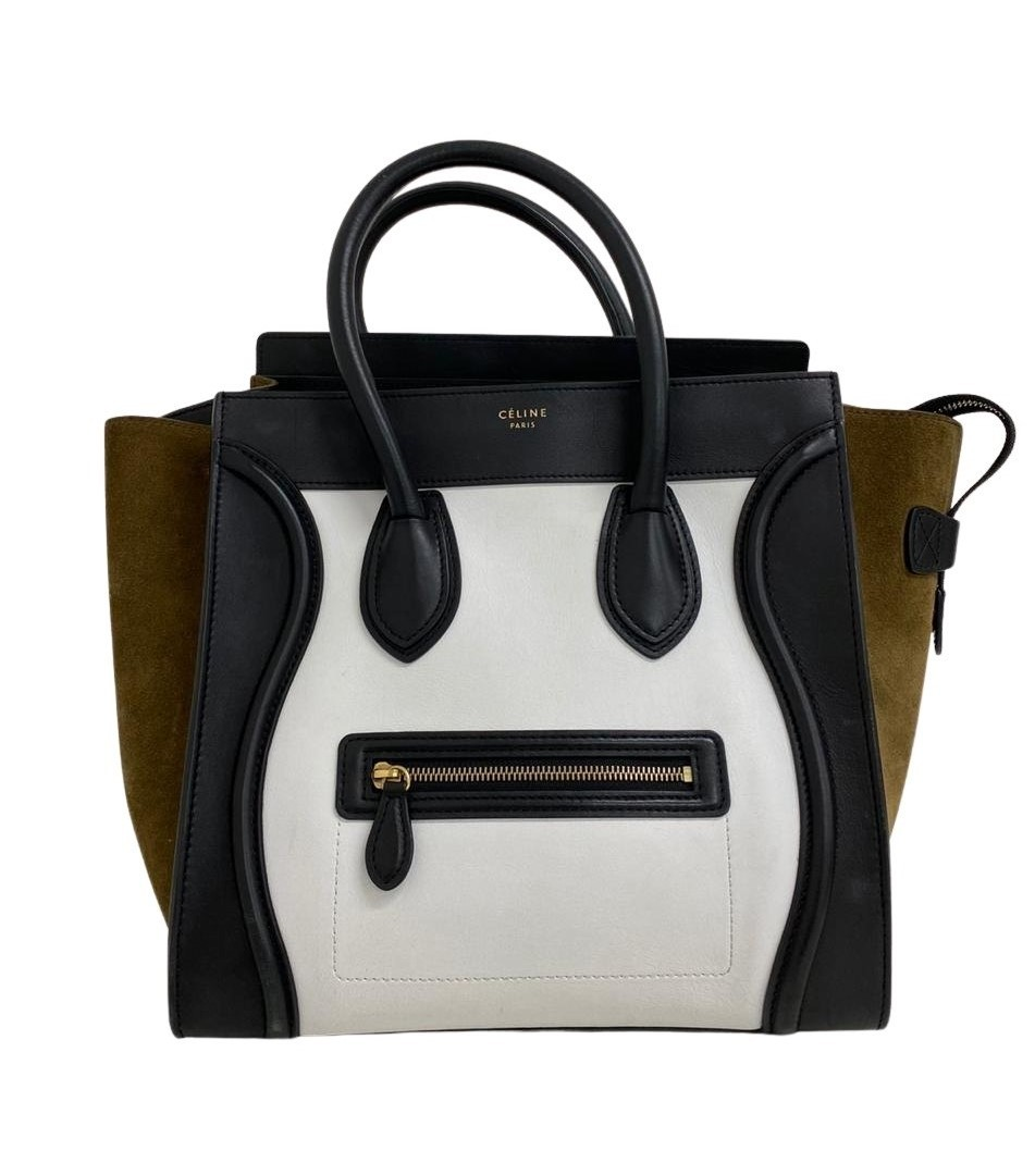 Bolsa Céline Luggage Tricolor