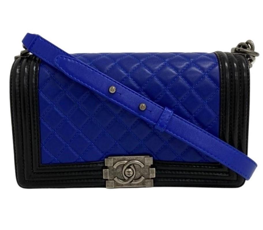 Bolsa Chanel Boy Bicolor