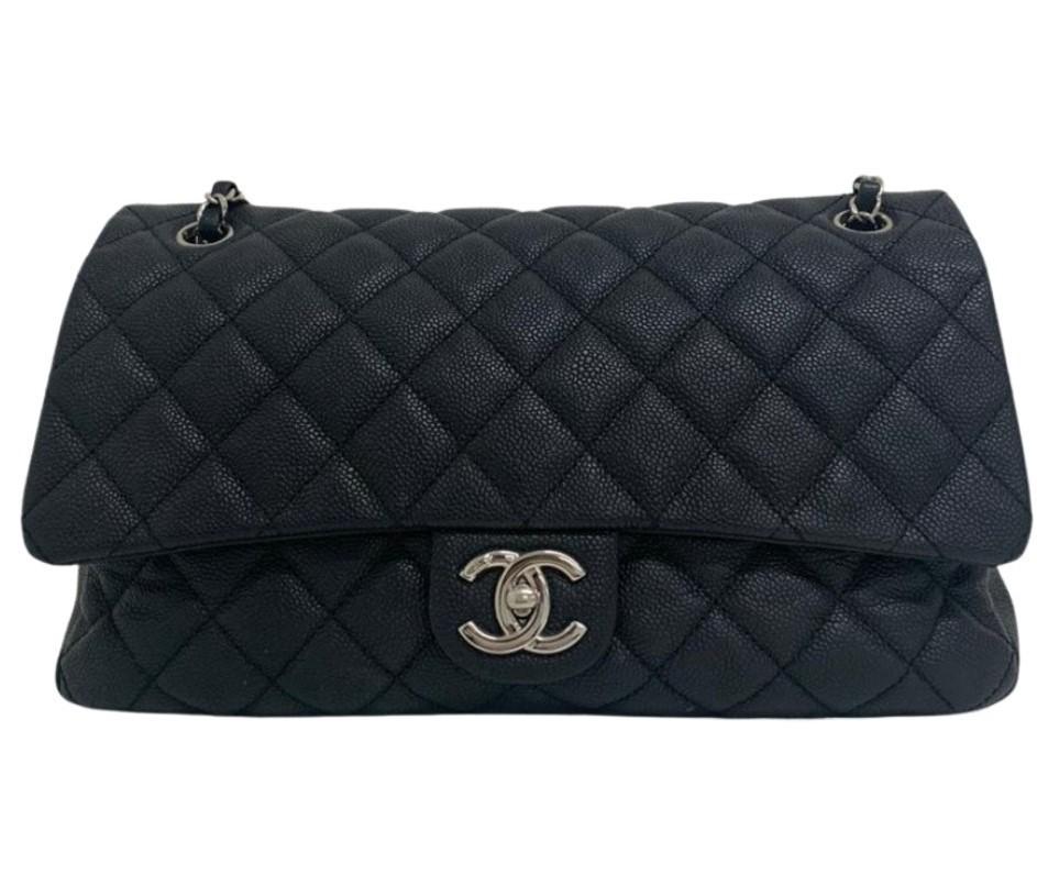 Bolsa Chanel Caviar Preta