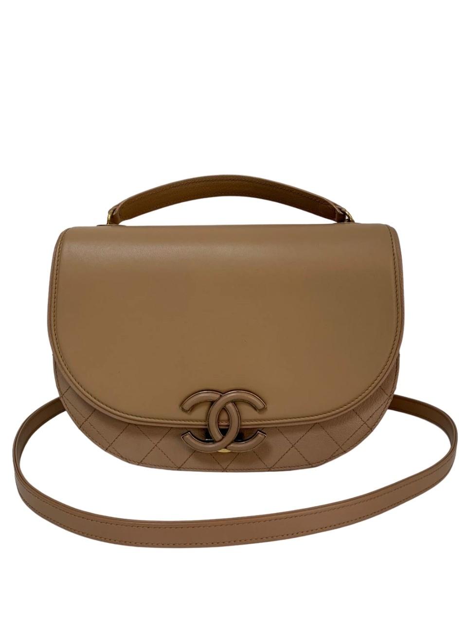 Bolsa Chanel Coco Curve Caramelo