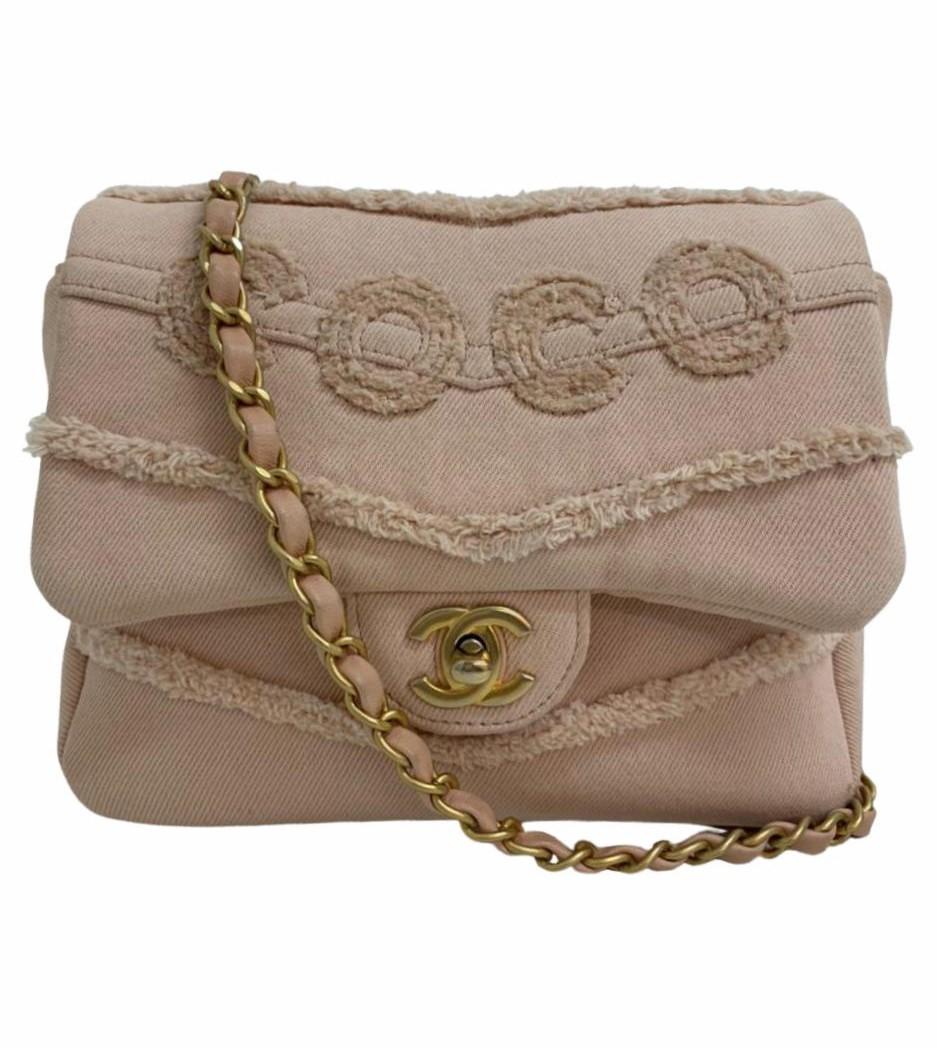 Bolsa Chanel Crossbody Rosé