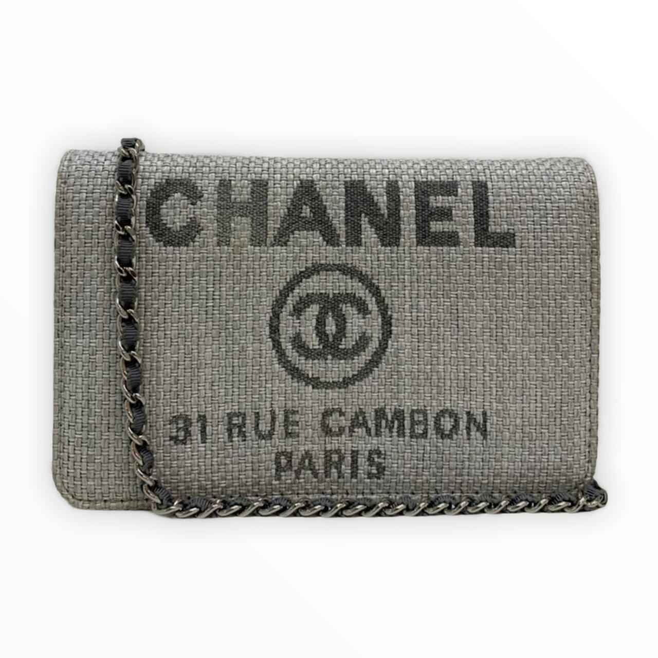 Bolsa Chanel Deauville Wallet on Chain