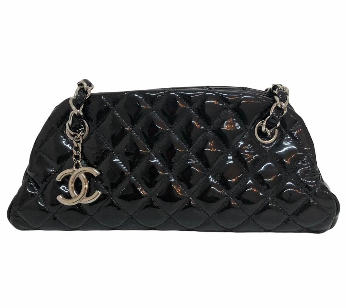 Bolsa Chanel Just Madeimoselle Small Preta