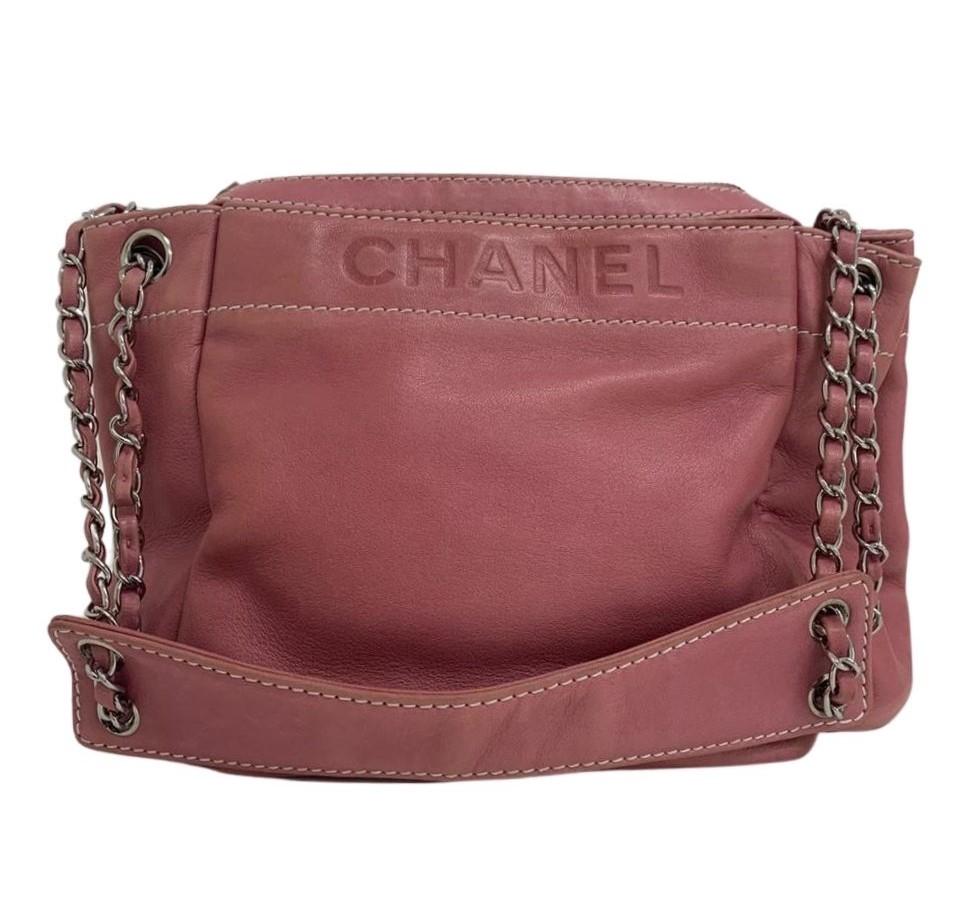 Bolsa Chanel LAX Accordion Rosa