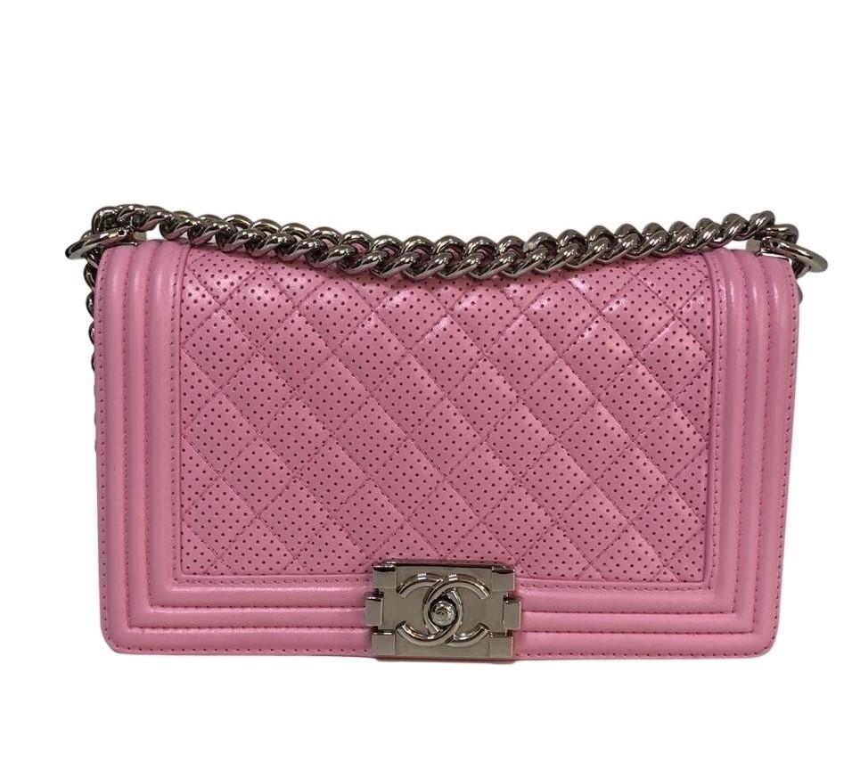 Bolsa Chanel Le Boy Rosa