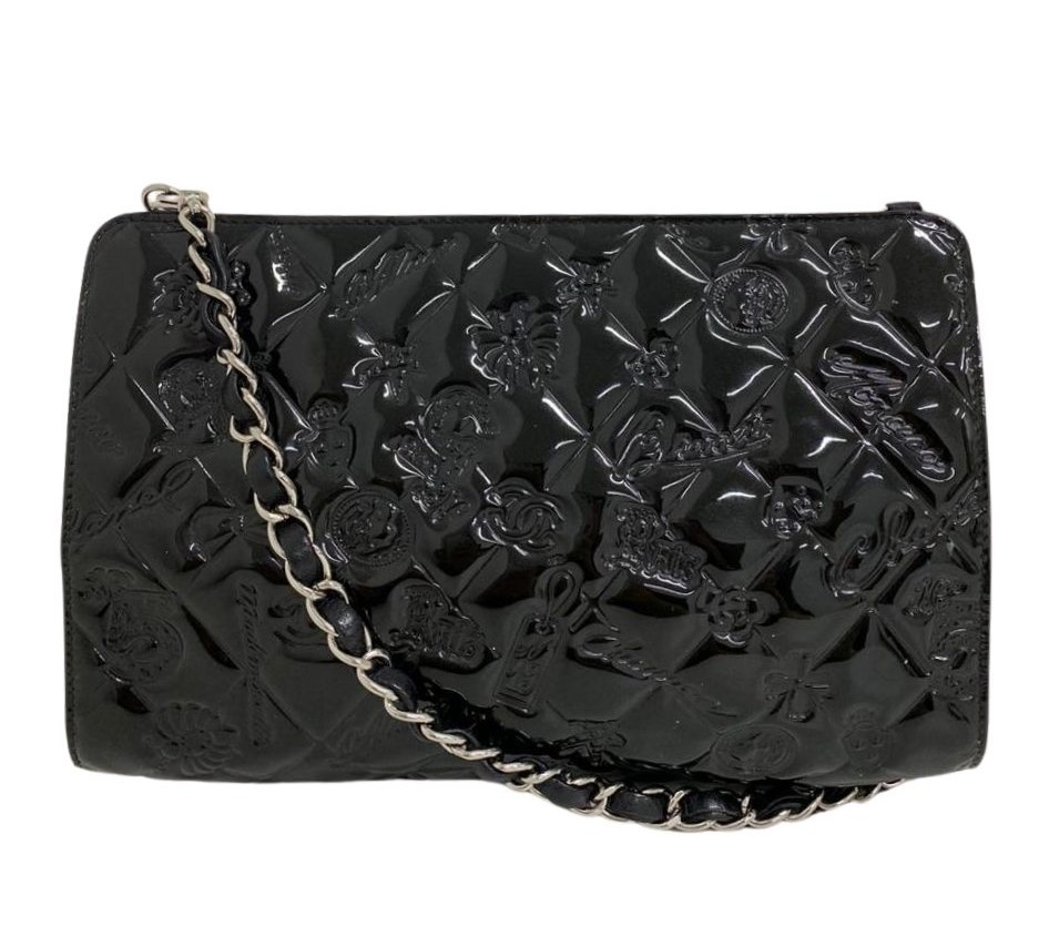 Bolsa Chanel Limited Edition Verniz Preta