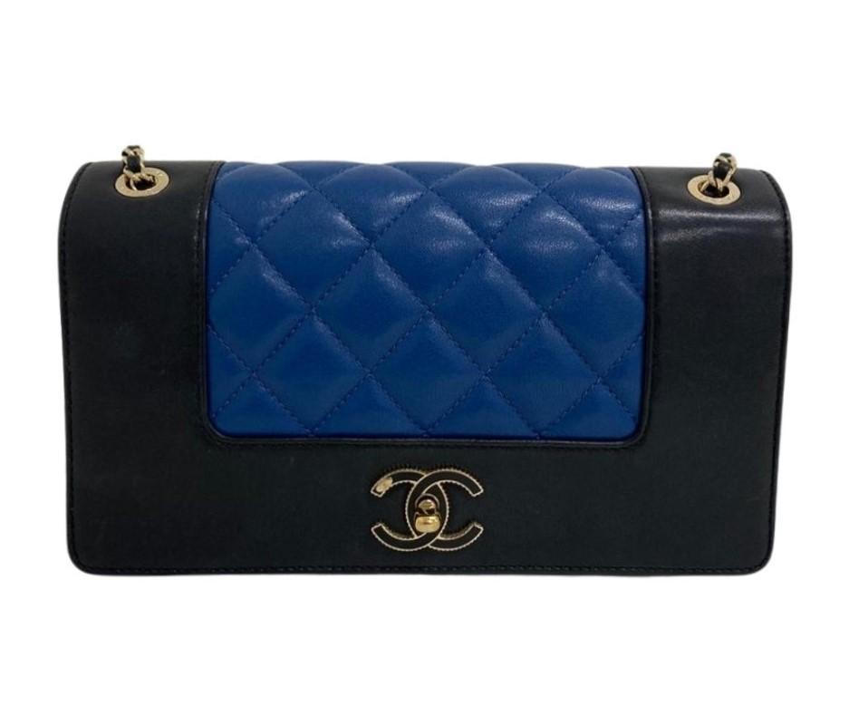 Bolsa Chanel Mademoiselle Vintage Bicolor