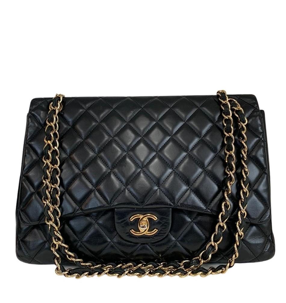 Bolsa Chanel Maxi Preta