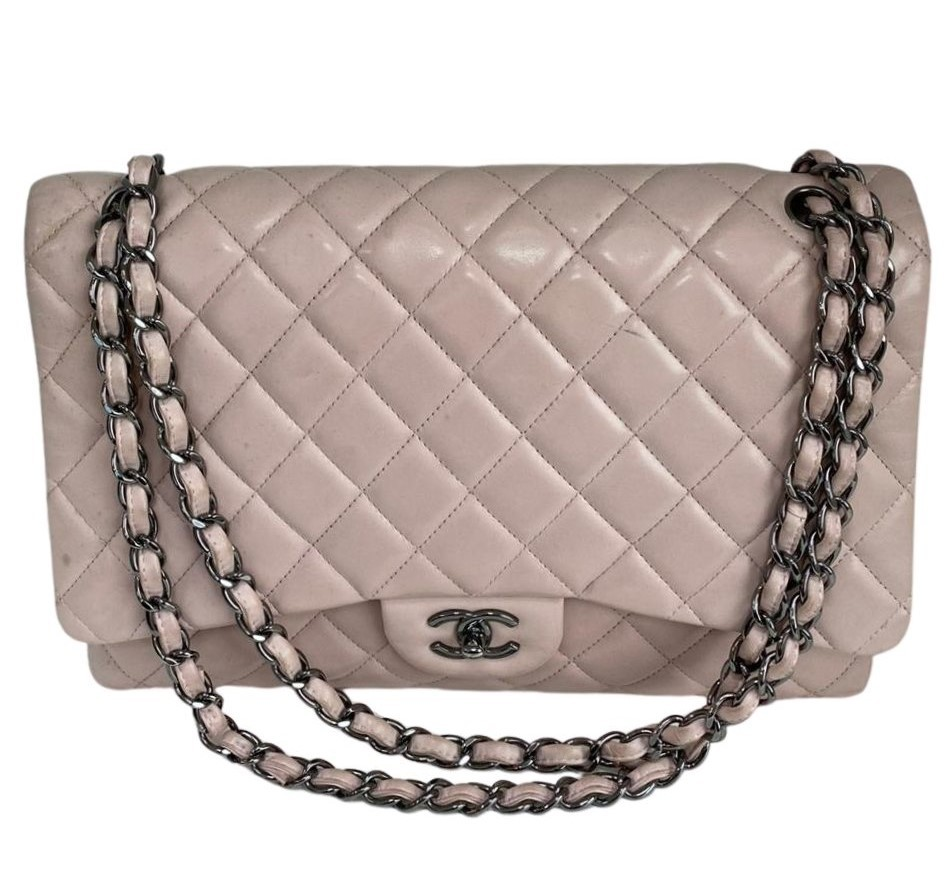 Bolsa Chanel Maxi Rosa