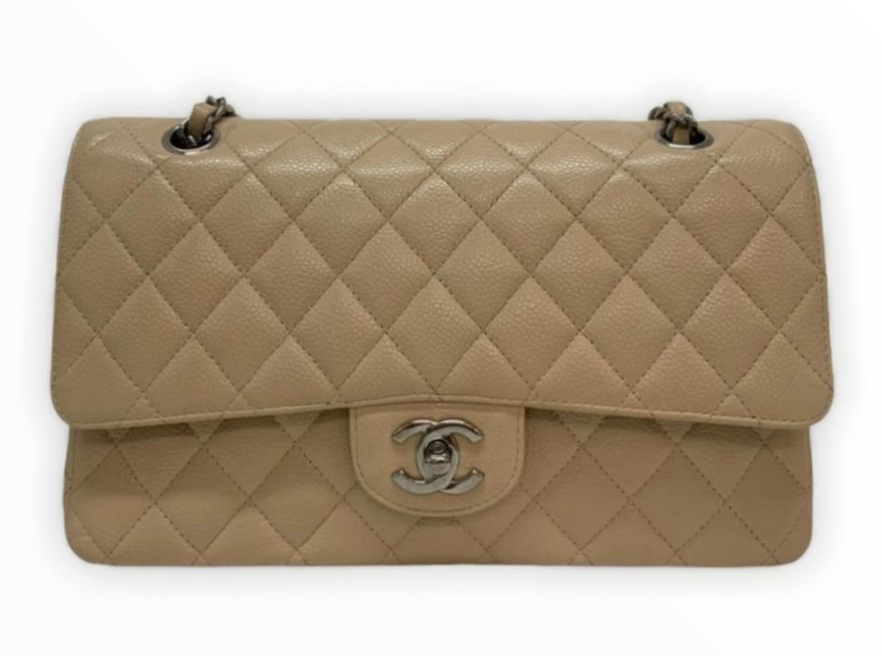 Bolsa Chanel Média Caviar