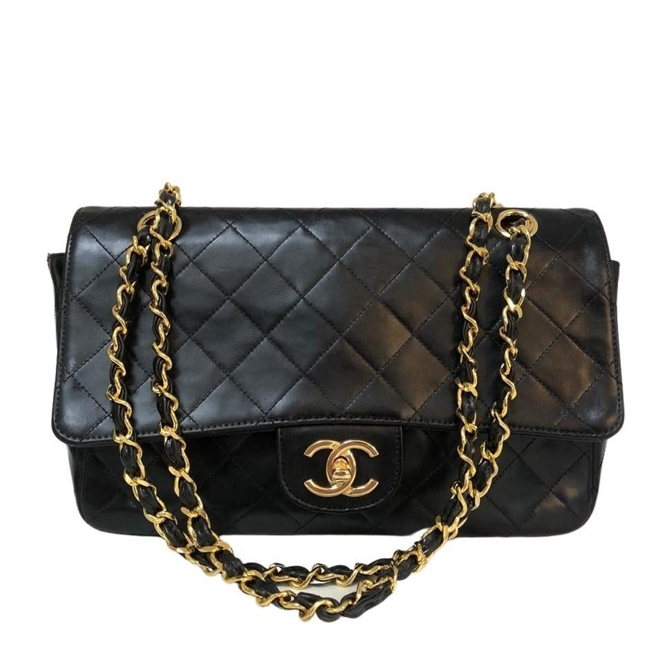 Bolsa Chanel Média Preta