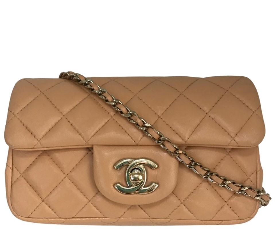 Bolsa Chanel Mini Light Bege