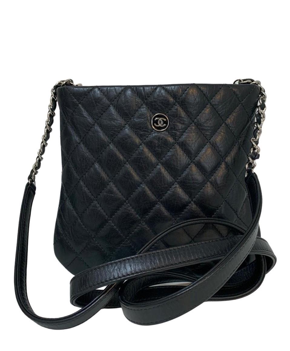 Bolsa Chanel Mini Preta Crossbody