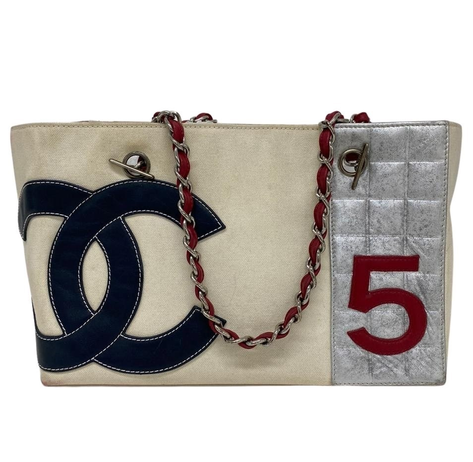 Bolsa Chanel No. 5 Foil Shopping