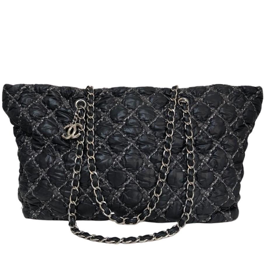 Bolsa Chanel Nylon Preta