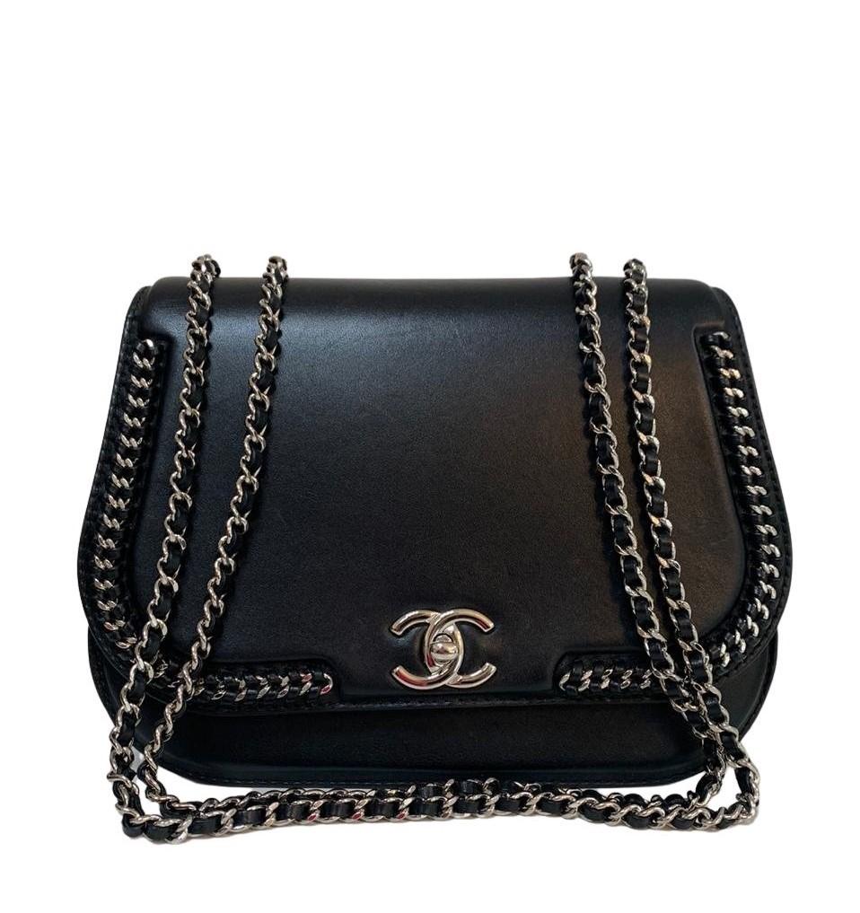 Bolsa Chanel Preta Crossbody
